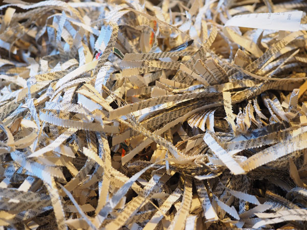 Safe, secure Document Shredding